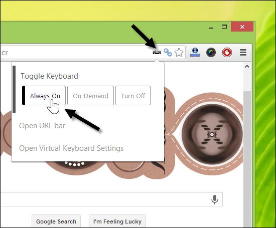 Virtual Keyboard for Chrome
