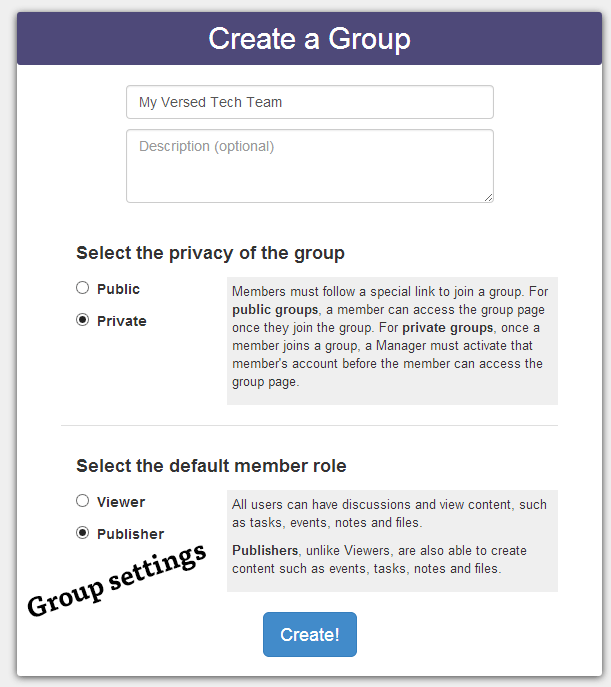 Groupiful – Web App to Organize Your Small Team