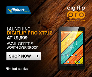 Flipkart Digiflip Pro XT712 offer