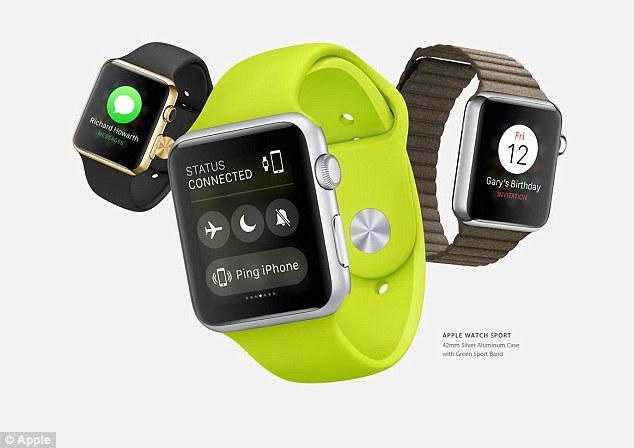 Updated Apple Watch Software