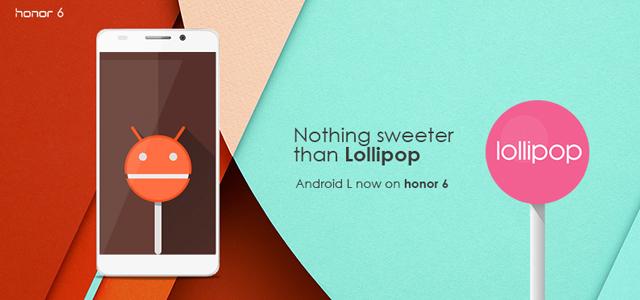 Honor-6-Lollipop-update-India