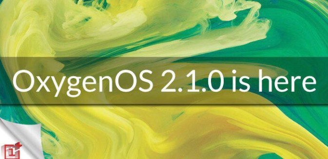 Oxygen OS 2.1 for OnePlus 2