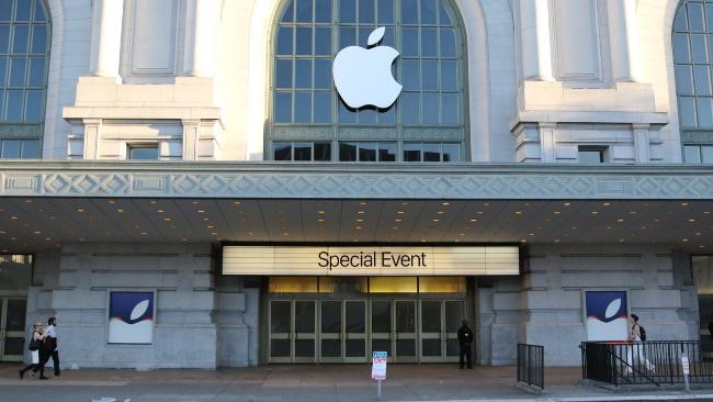September 9 apple launch at Bill Graham Civic Auditorium