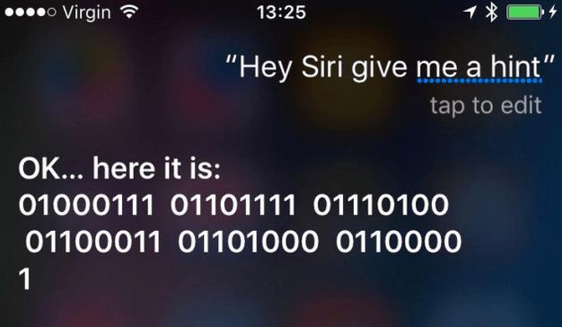 Siri Binary Response for Apple September event
