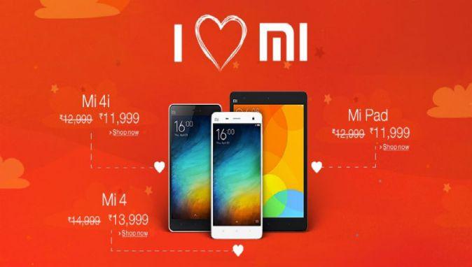 Xiaomi Mi 4, Mi 4i and Mi Pad discount deals on Amazon India