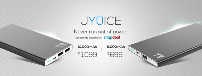 YU JYUICE Power Bank