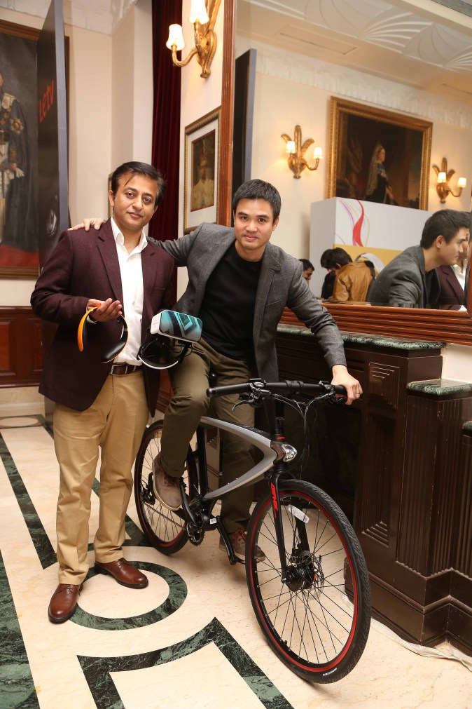 Launch of 3D Helmet, Bluetooth Headphones and SuperCycle