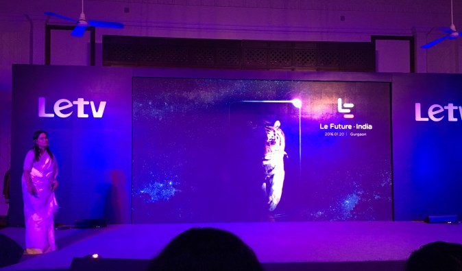 Letv Launch on 20th January 2016