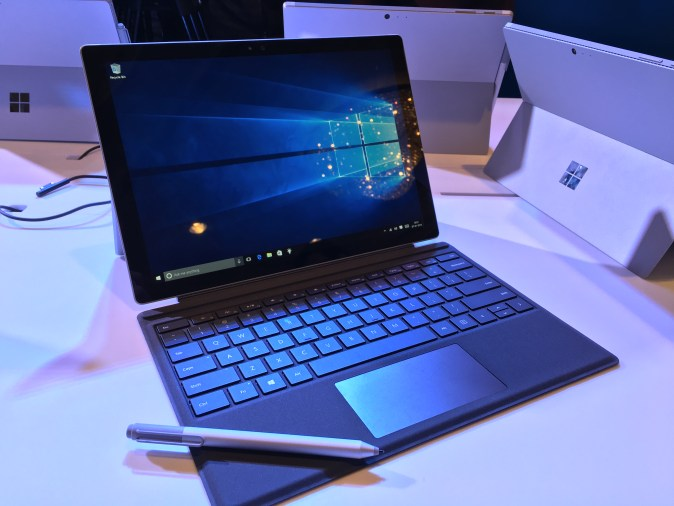 Microsoft Surface Pro 4 Launch in India