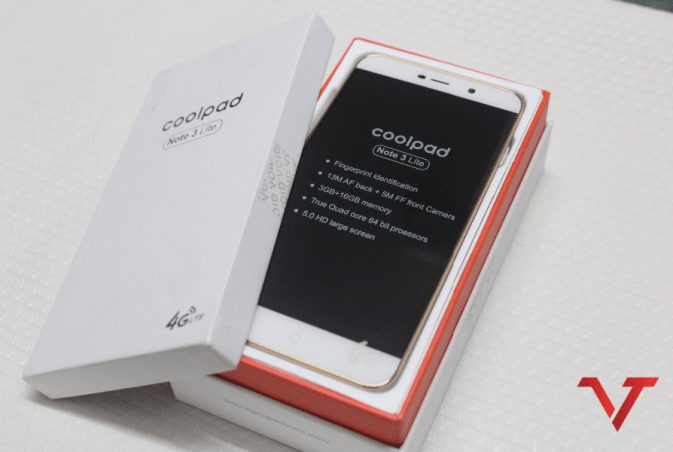 Coolpad Note 3 LIte Box
