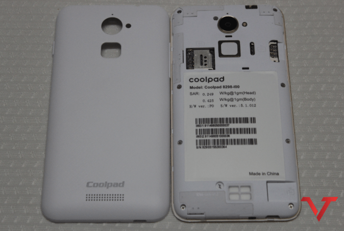 Coolpad Note 3 Lite Back Panel