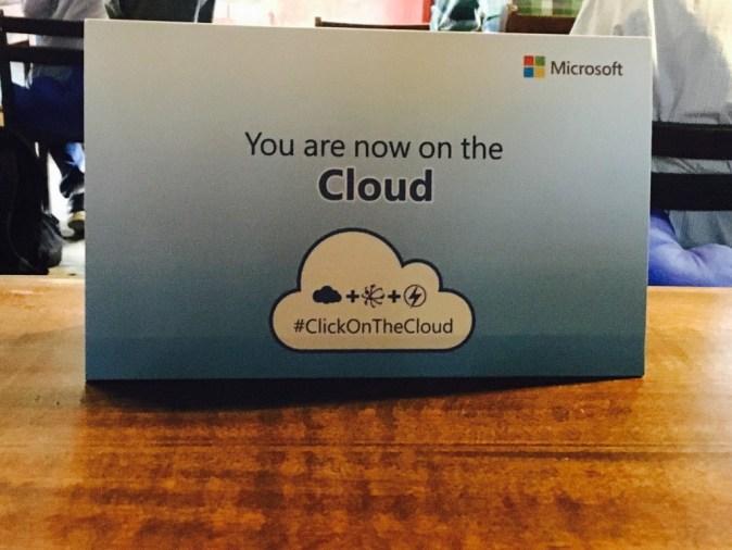 Microsoft Cloud Event