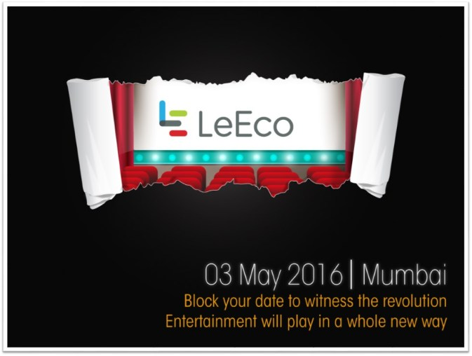 LeEco Block the Date