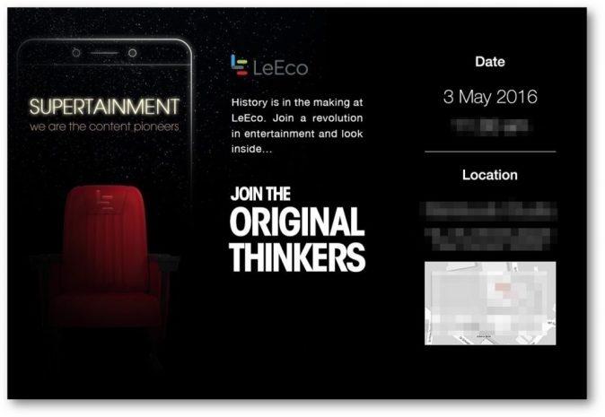 LeEco-May3-Launch-Invite