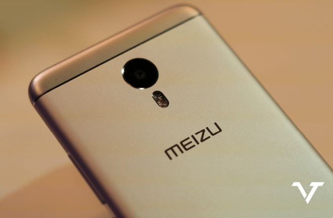 Meizu M3 Note Back Logo