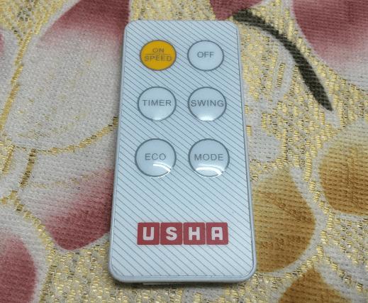 USHA Cerebro Compacto Tower Fan Remote