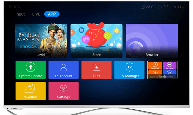 LeEco Super3 Max65 TV