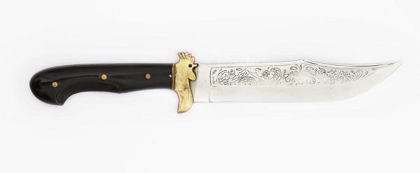 Steel and bone knife
