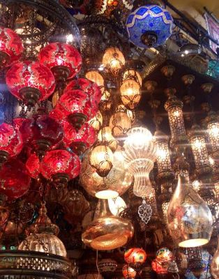 Lights at the Grand Bazaar
