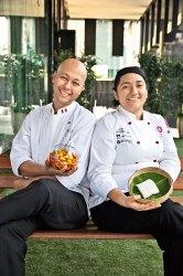 Chef Indrajit Saha, Chef Tania Tovar