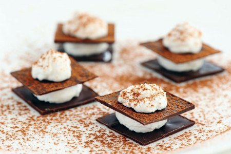 Chocolate millefeuilles