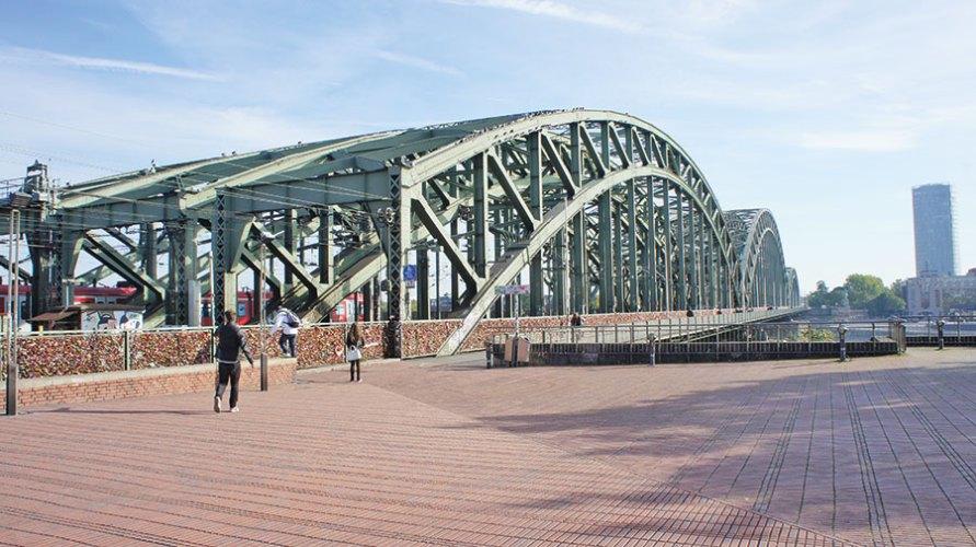 Hohoenzollern Bridge