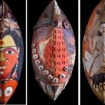 Artwork by Laxma Goud and Adil Writer at Pundole Art Gallery, Mumbai