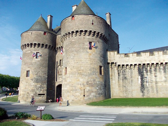 Castle at Guerande