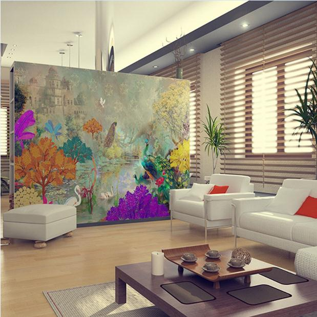 6 hot trends for your home verve magazine india 39 s for Room wallpaper india