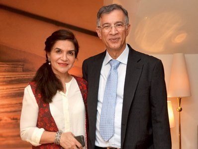 Kamal and Niranjan Hiranandani