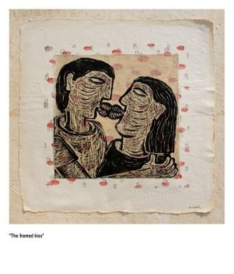 The Framed Kiss