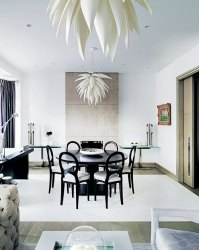 A contemporary styled home