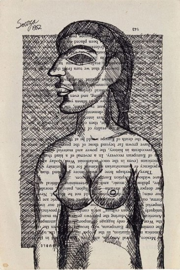 Untitled (Nude in Profile), 1952