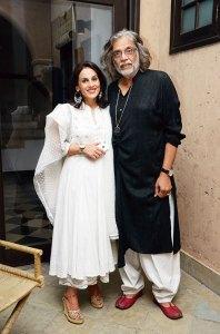 Meera and Muzaffar Ali