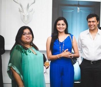 Salmoli Mukherjee, Ritu and Prakash Agarwal