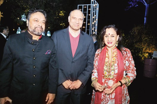 Sanjeev Bhargava, M Pallam Raju, Nalini Singh