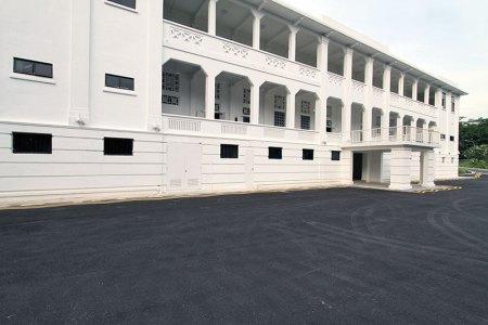 Facade of Gillman Barracks