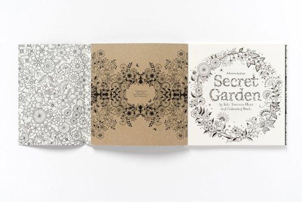 The Secret Garden by Johanna Basford