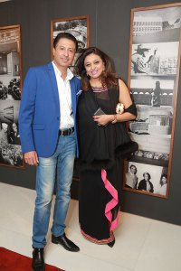 Vineesh and Shalini Kochhar