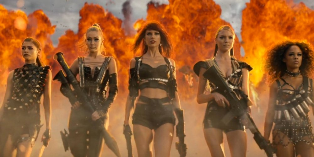 A still from Bad Blood