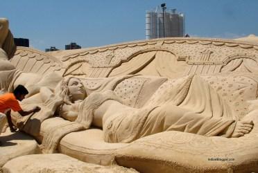 International Sand Art Festival, Konark