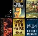 5 big monsoon reads: Murakami, Vekiram Seth, Ayn Rand, Gone With The Wind, Dumas