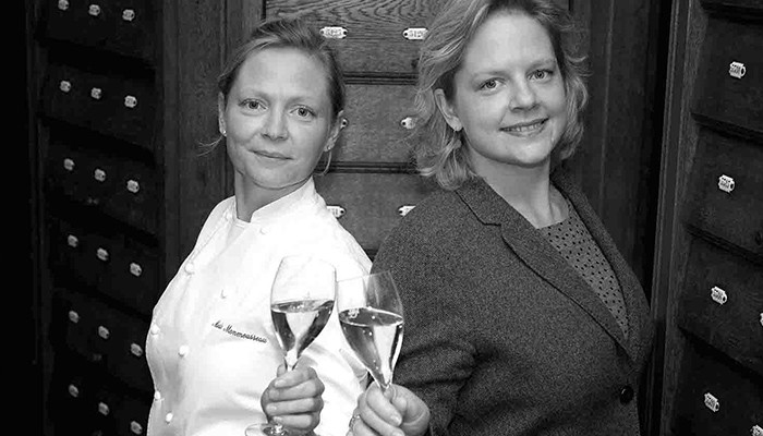 Chef Marie and Juliette Monmousseau