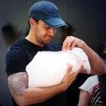 Bollywood actor Imran Khan on the birth of his daughter Imara