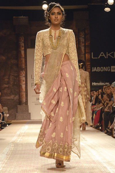 Anju Modi, Lakme Fashion Week 2014