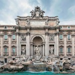 Trevi Fountain, Rome, Fendi