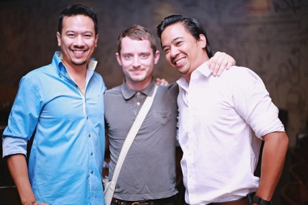 Ryan Tham, Elijah Wood, Keenan Tham