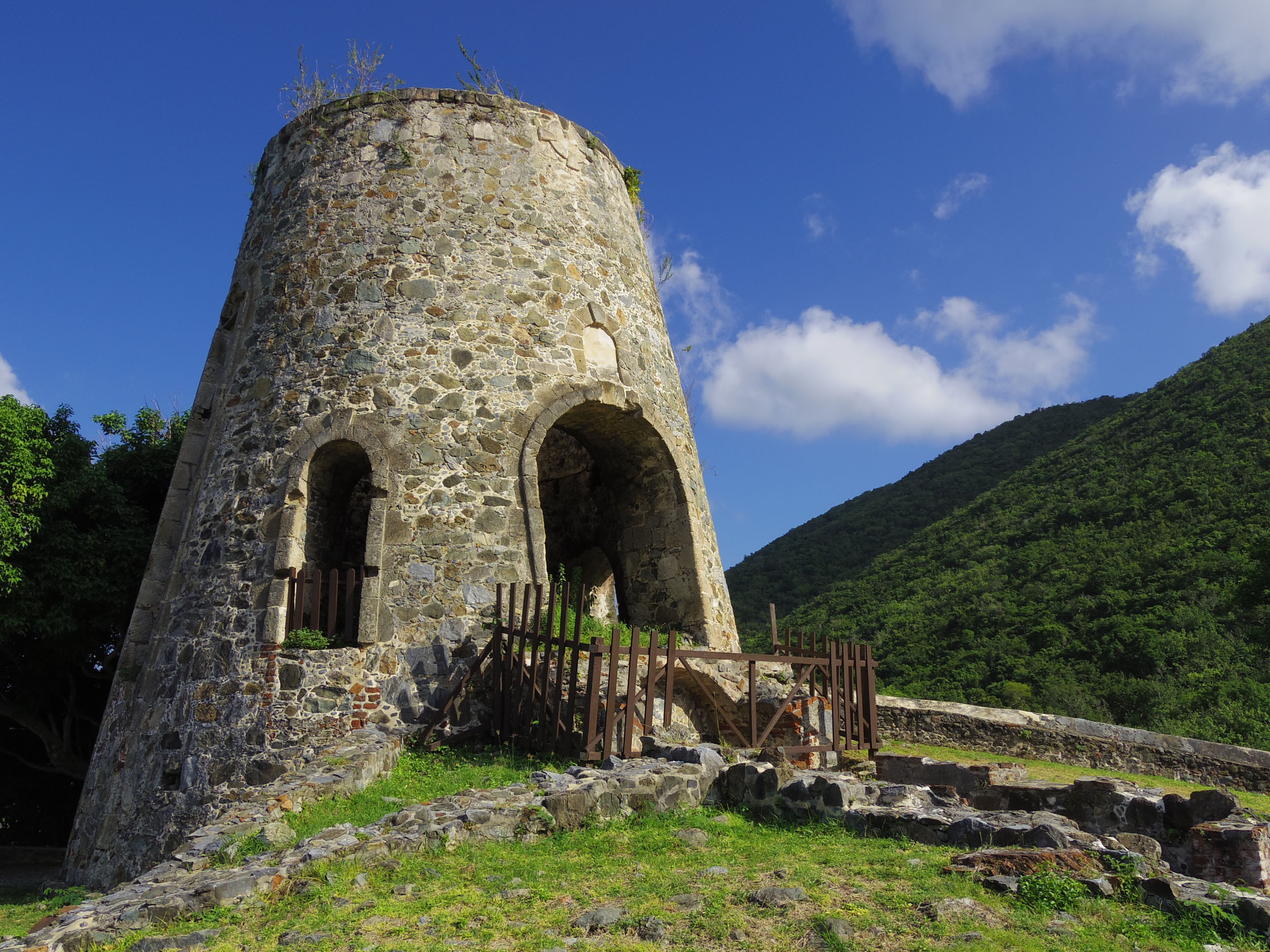 Dutch By Design: The Slave Plantation Ruins of St. John Island
