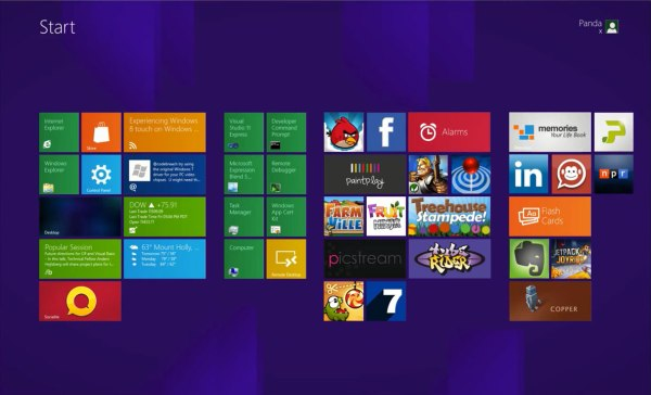 BlueStacks Windows 8 Metro