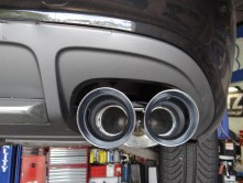 2011 Audi S4 AWE Exhaust System
